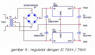 Regulator dengan IC