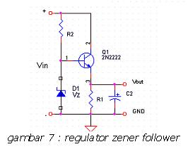 Regulator Zener Follower