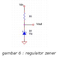Regulator Zener